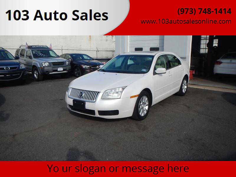 2009 Mercury Milan for sale at 103 Auto Sales in Bloomfield NJ