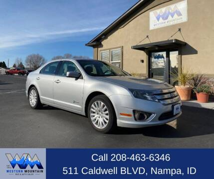 2011 Ford Fusion Hybrid for sale at Western Mountain Bus & Auto Sales in Nampa ID