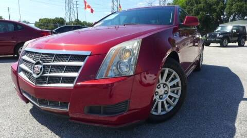 2010 Cadillac CTS for sale at Das Autohaus Quality Used Cars in Clearwater FL