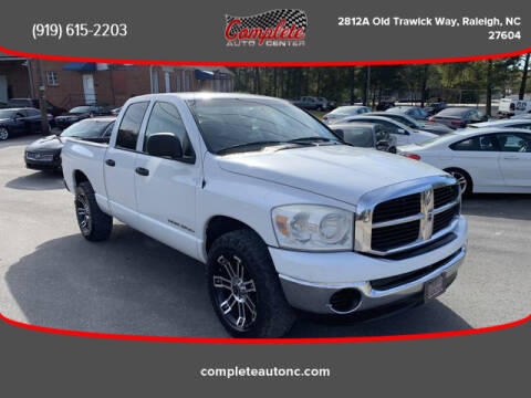 2007 Dodge Ram Pickup 1500 for sale at Complete Auto Center , Inc in Raleigh NC