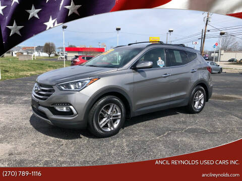 2018 Hyundai Santa Fe Sport for sale at Ancil Reynolds Used Cars Inc. in Campbellsville KY