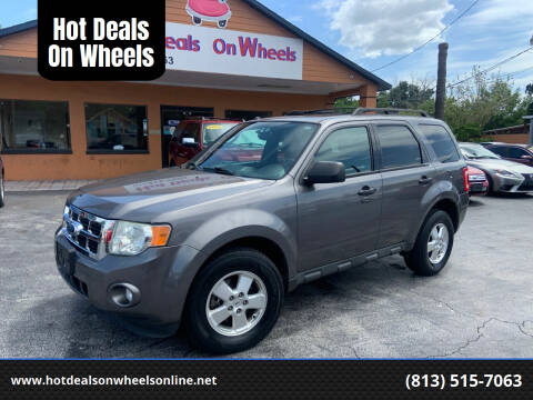2011 Ford Escape for sale at Hot Deals On Wheels in Tampa FL