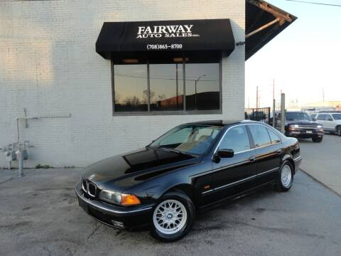 1998 BMW 5 Series for sale at FAIRWAY AUTO SALES, INC. in Melrose Park IL