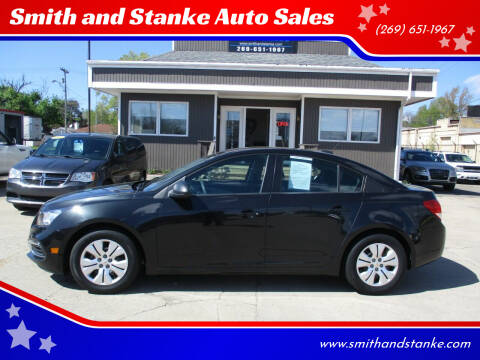 2016 Chevrolet Cruze Limited for sale at Smith and Stanke Auto Sales in Sturgis MI