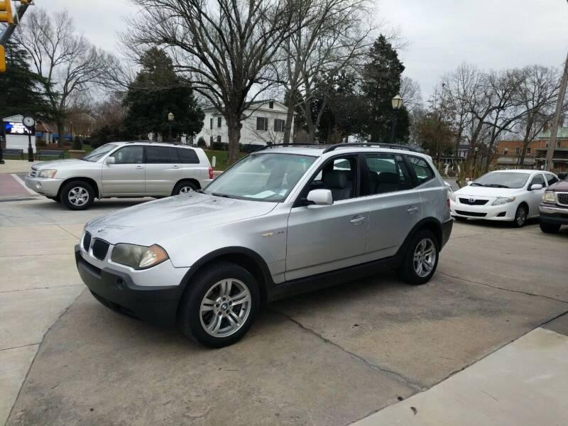 2004 BMW X3 for sale at ROBINSON AUTO BROKERS in Dallas NC