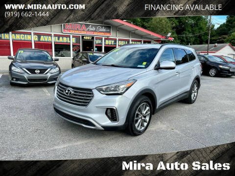 2017 Hyundai Santa Fe for sale at Mira Auto Sales in Raleigh NC