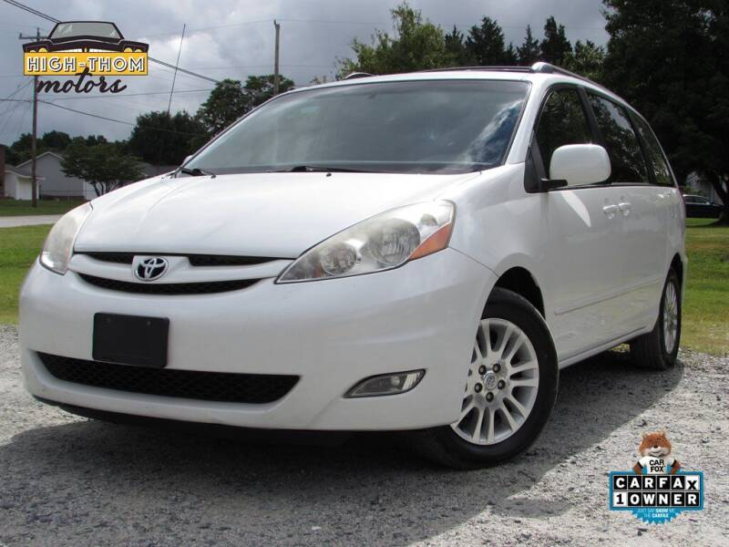 2010 Toyota Sienna for sale at High-Thom Motors in Thomasville NC