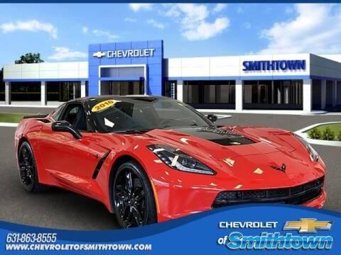 2016 Chevrolet Corvette for sale at CHEVROLET OF SMITHTOWN in Saint James NY
