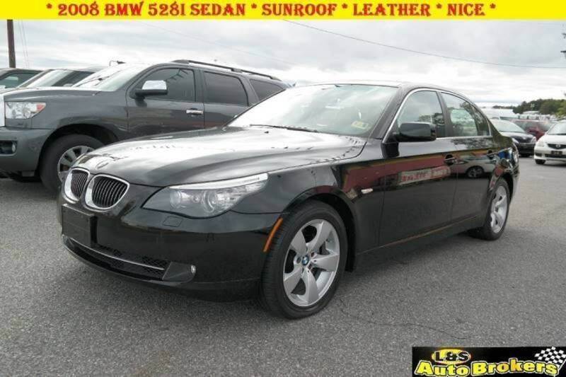 2008 BMW 5 Series for sale at L & S AUTO BROKERS in Fredericksburg VA