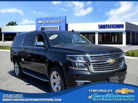 2015 Chevrolet Suburban for sale at CHEVROLET OF SMITHTOWN in Saint James NY
