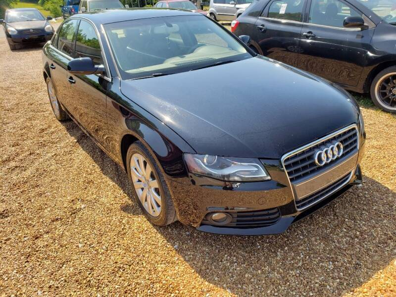 2011 Audi A4 for sale at Scarletts Cars in Camden TN