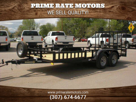 2021 Diamond-T 16FT UTILITY TRAILER for sale at PRIME RATE MOTORS in Sheridan WY