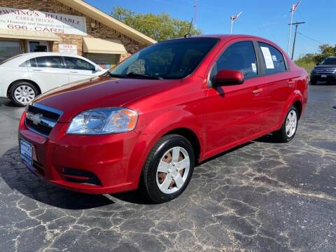 2009 Chevrolet Aveo for sale at Browning's Reliable Cars & Trucks in Wichita Falls TX
