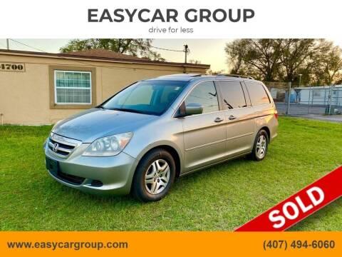2006 Honda Odyssey for sale at EASYCAR GROUP in Orlando FL
