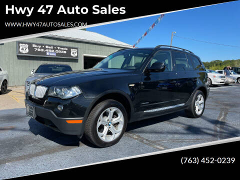 2010 BMW X3 for sale at Hwy 47 Auto Sales in Saint Francis MN