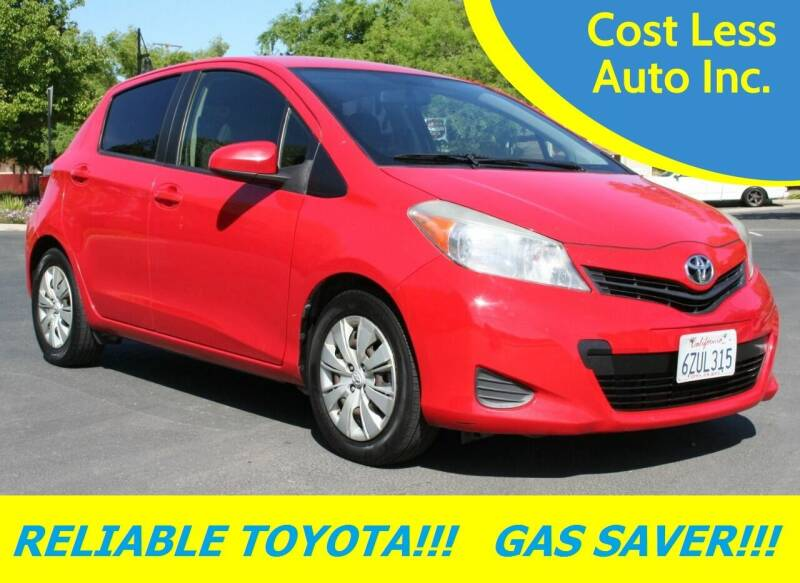 2013 Toyota Yaris for sale at Cost Less Auto Inc. in Rocklin CA