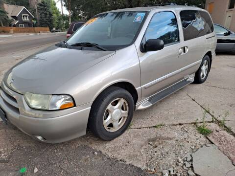 2002 Nissan Quest for sale at De Kam Auto Brokers in Colorado Springs CO