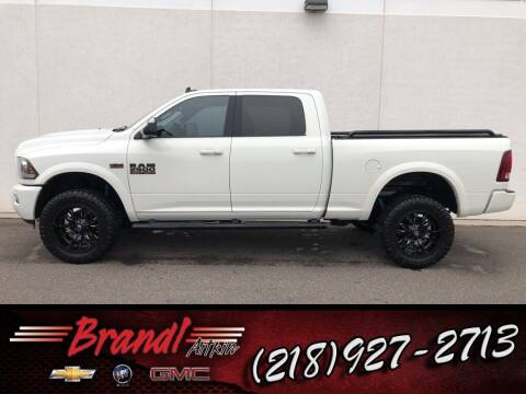 2018 RAM Ram Pickup 2500 for sale at Brandl GM in Aitkin MN