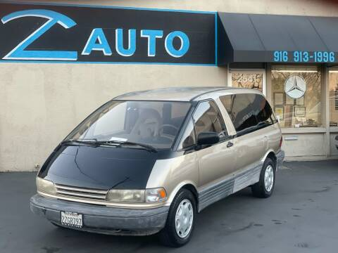1992 Toyota Previa for sale at Z Auto in Sacramento CA