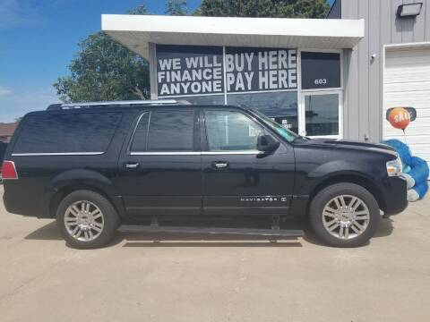 2008 Lincoln Navigator L for sale at STERLING MOTORS in Watertown SD