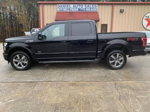 2017 Ford F-150 for sale at Daniel Used Auto Sales in Dallas GA