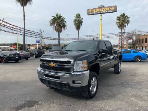 2014 Chevrolet Silverado 2500HD for sale at A MOTORS SALES AND FINANCE in San Antonio TX