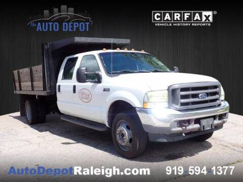 2004 Ford F-550 Super Duty for sale at The Auto Depot in Raleigh NC
