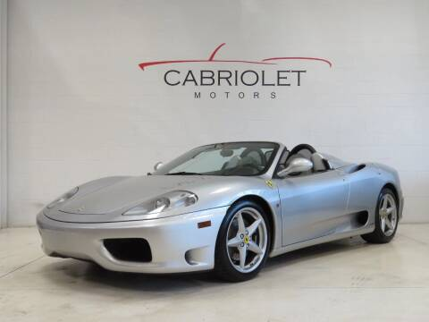 2003 Ferrari 360 Spider for sale at Cabriolet Motors in Morrisville NC