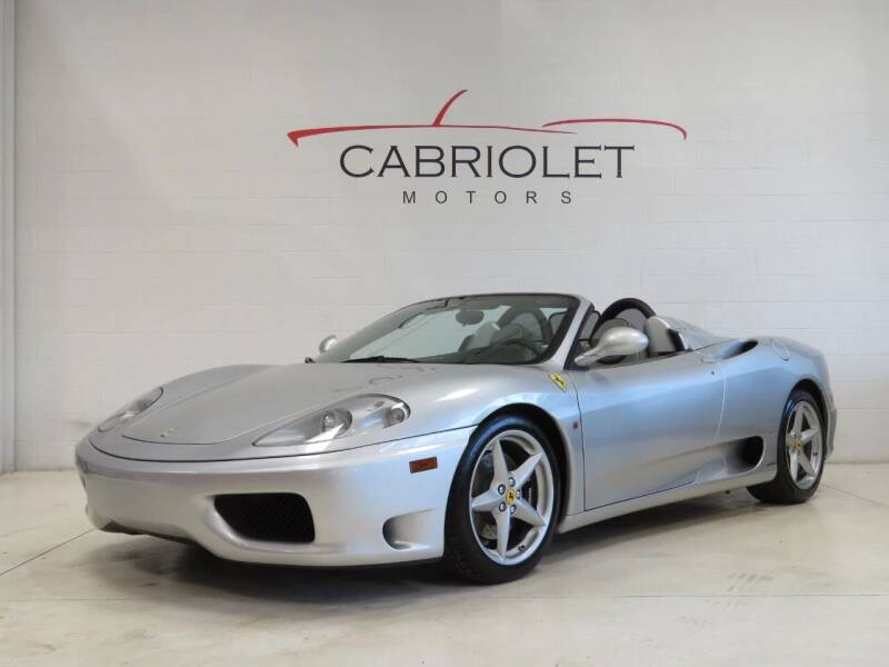 2003 Ferrari 360 Spider for sale at Cabriolet Motors in Morrisville NC