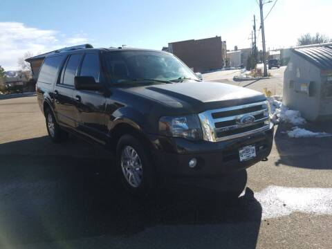 2012 Ford Expedition EL for sale at BERKENKOTTER MOTORS in Brighton CO