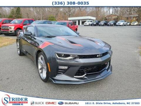 2017 Chevrolet Camaro for sale at STRIDER BUICK GMC SUBARU in Asheboro NC