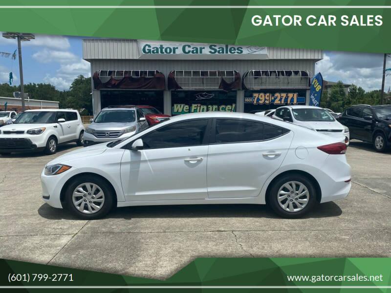 2017 Hyundai Elantra for sale at Gator Car Sales in Picayune MS