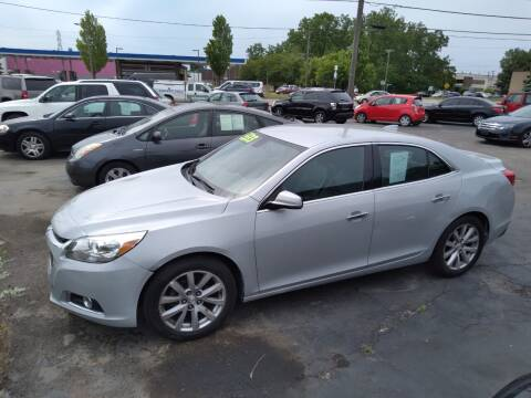 2015 Chevrolet Malibu for sale at D and D All American Financing in Warren MI