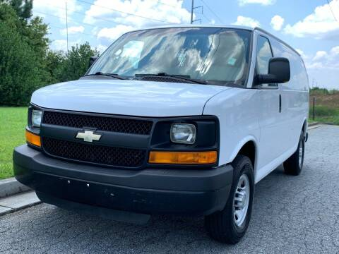 2013 Chevrolet Express Cargo for sale at William D Auto Sales in Norcross GA
