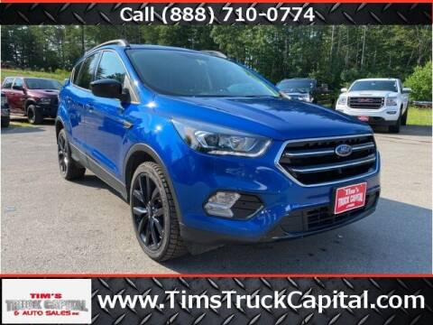 2017 Ford Escape for sale at TTC AUTO OUTLET/TIM'S TRUCK CAPITAL & AUTO SALES INC ANNEX in Epsom NH