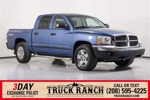 2005 Dodge Dakota for sale at Truck Ranch in Twin Falls ID
