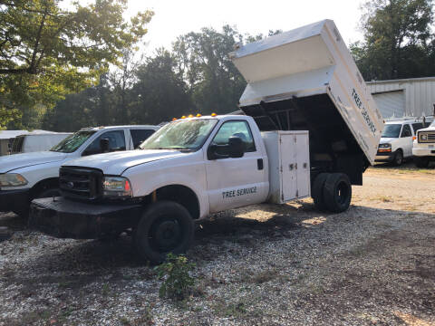 2002 Ford F-450 Super Duty for sale at M & W MOTOR COMPANY in Hope AR