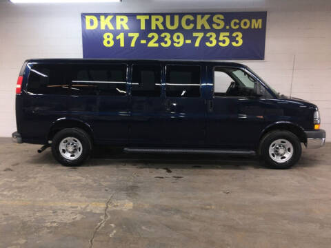 2010 Chevrolet Express Passenger for sale at DKR Trucks in Arlington TX