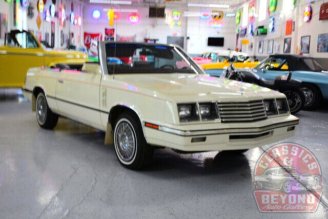1985 Dodge 600 for sale at Classics and Beyond Auto Gallery in Wayne MI
