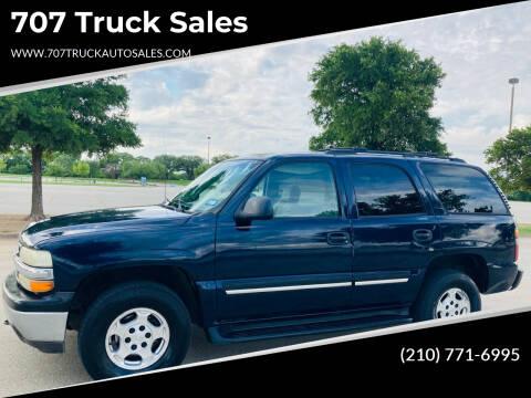 2005 Chevrolet Tahoe for sale at 707 Truck Sales in San Antonio TX