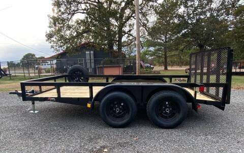 """2022 HD 77""""x12' Utility Trailer for sale at TINKER MOTOR COMPANY in Indianola OK"""