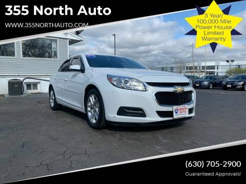 2015 Chevrolet Malibu for sale at 355 North Auto in Lombard IL