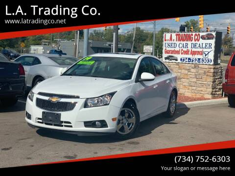 2014 Chevrolet Cruze for sale at L.A. Trading Co. Woodhaven in Woodhaven MI