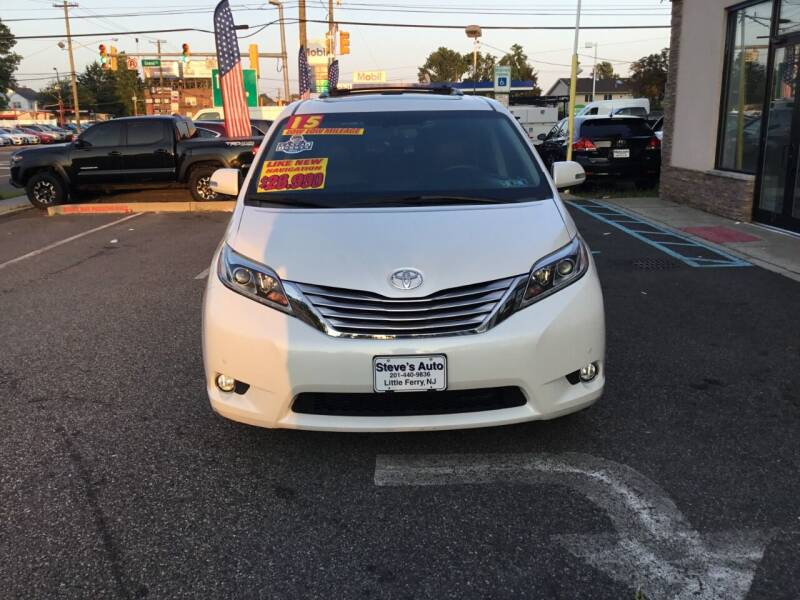 2015 Toyota Sienna for sale at Steves Auto Sales in Little Ferry NJ