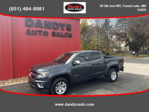2019 Chevrolet Colorado for sale at Dandy's Auto Sales in Forest Lake MN