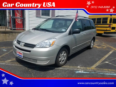 2004 Toyota Sienna for sale at Car Country USA in Augusta NJ