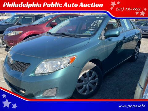 2010 Toyota Corolla for sale at Philadelphia Public Auto Auction in Philadelphia PA