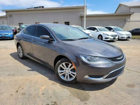 2016 Chrysler 200 for sale at el camino auto sales in Gainesville GA