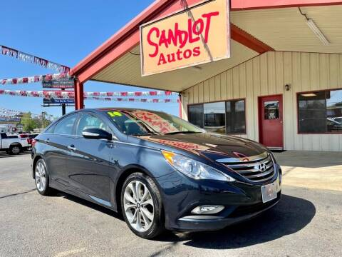 2014 Hyundai Sonata for sale at Sandlot Autos in Tyler TX