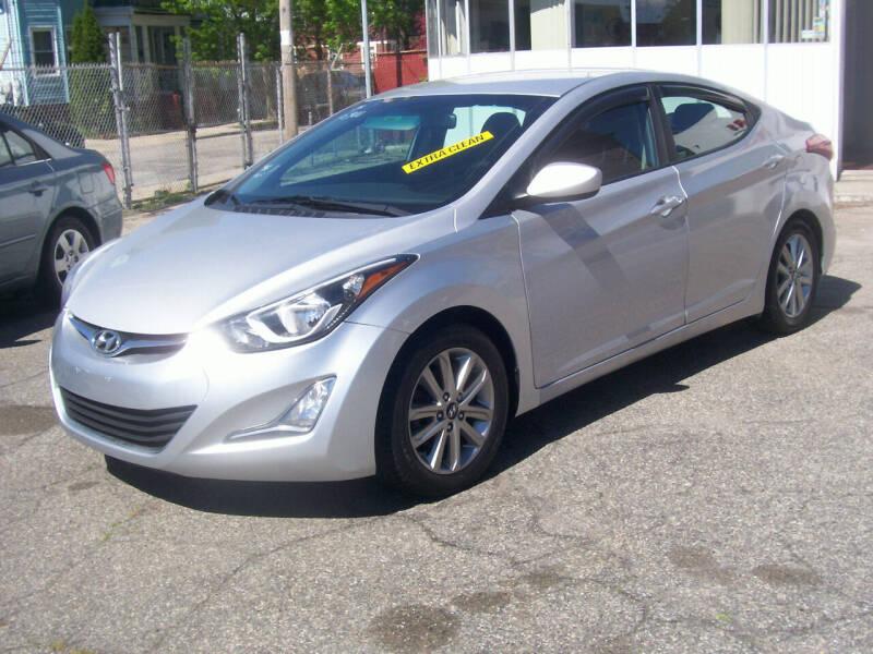 2014 Hyundai Elantra for sale at Dambra Auto Sales in Providence RI